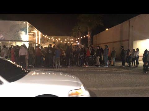 Halloween weekend | Street Preaching @ Jax Beach Bars