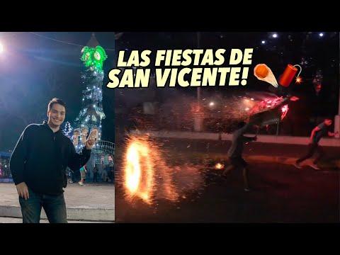 Así se viven las FIESTAS más EXTREMAS de El Salvador ?????????????? | San Vicente