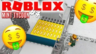 🤑TIX OG ROBUX! - Roblox Mint Tycoon Ep 4