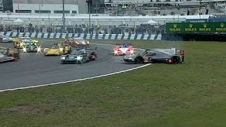 All Crashes From The Rolex 24 Hours At Daytona