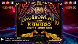 Dimitri Vegas &amp Like Mike, Steve Aoki Vs. W&ampW - Komodo (Tomorrowland 2017)