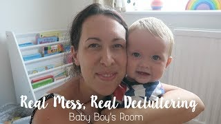 DECLUTTER YOUR HOME | BABY BOY