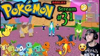 Pokemon - Roblox Ch.#30, 1ère fois en ligne en jouant PC (Max Graphics) #31st Stream