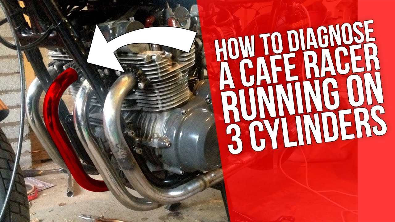 Cafe Racer Build 19 Suzuki Gs550 Diagnosing A Cafe Racer Running On 3 Cylinders You