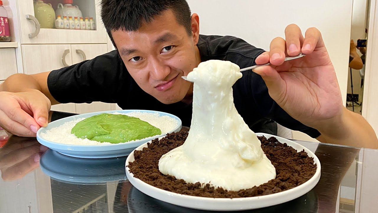 如何在三分鐘內,做出好吃的鮮奶麻糬!How to make delicious milk mochi in three minutes!