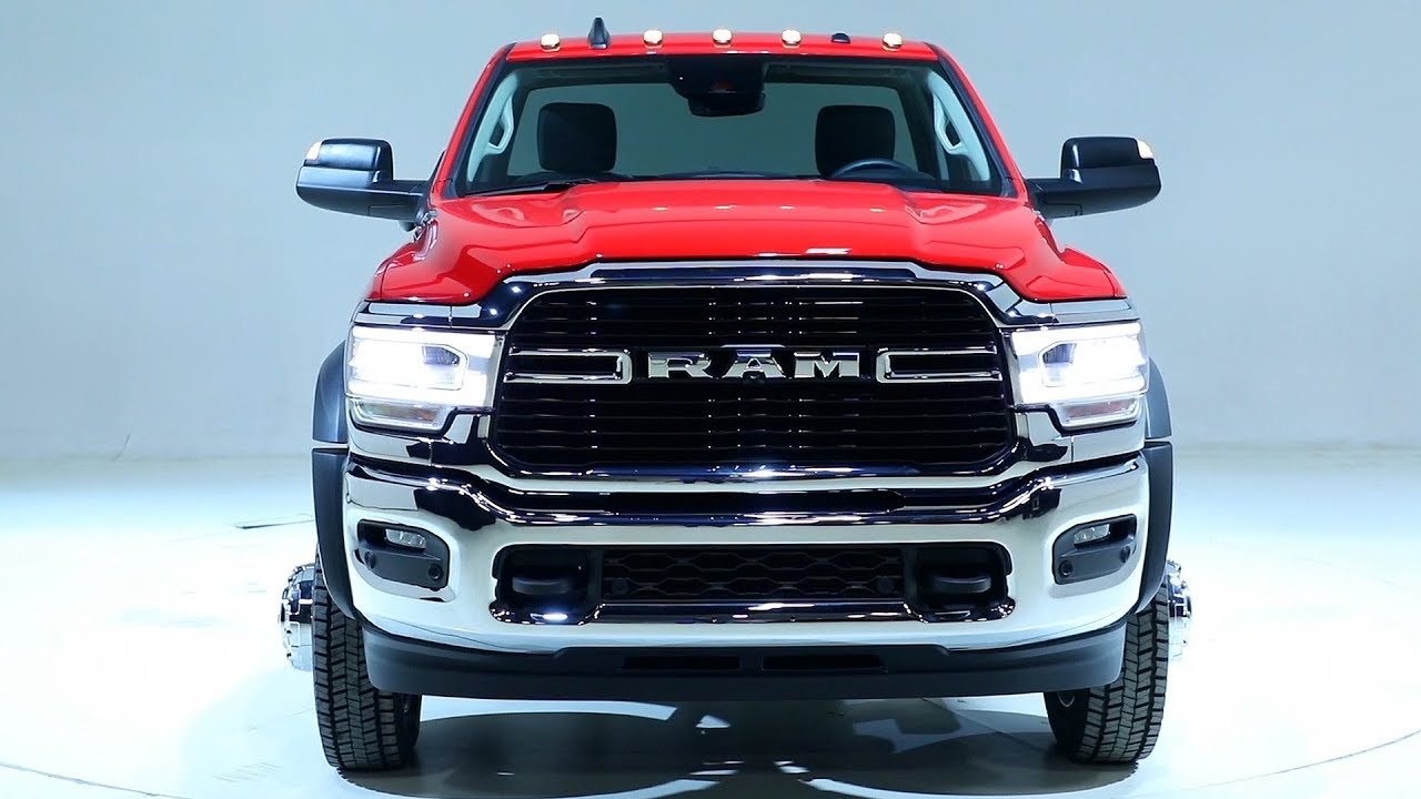 Dodge Ram 5500 >> 2019 Ram 5500 Chassis Cab Limited - YouTube