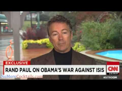 Rand Paul opposes US troops fighting ISIS; Boots on the ground should be Turks, Kurds, Saudis