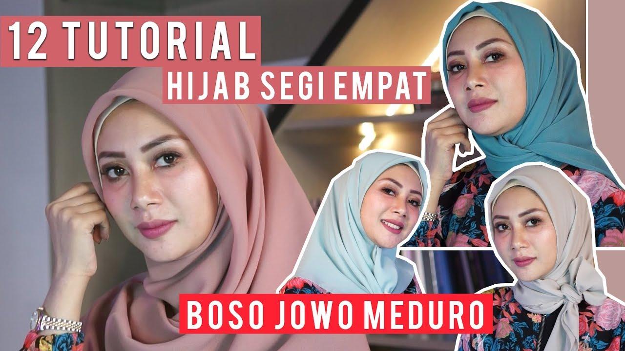 TUTORIAL HIJAB SEGI EMPAT | BAHASA MADURA JAWA by DELTA HESTI