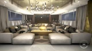 Galactica luxury Yacht Virtual Tour by Case 3D