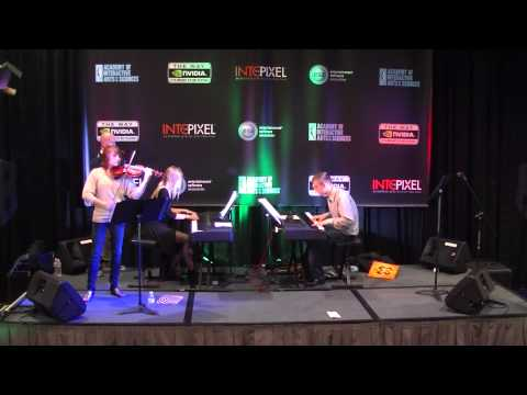 Halo Theme Live at E3 2012 on Violin and Pianos: Taylor Davis, Kyle Landry, Lara