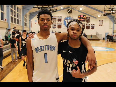 "WESTTOWN SCHOOL vs FIRST LOVE CHRISTIAN ACADEMY ""3 POINT SHOOT OUT, CRAZY FINISH"" MUST SEE!!!"