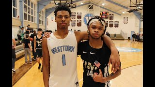 """WESTTOWN SCHOOL vs FIRST LOVE CHRISTIAN ACADEMY """"3 POINT SHOOT OUT, CRAZY FINISH"""" MUST SEE!!!"""