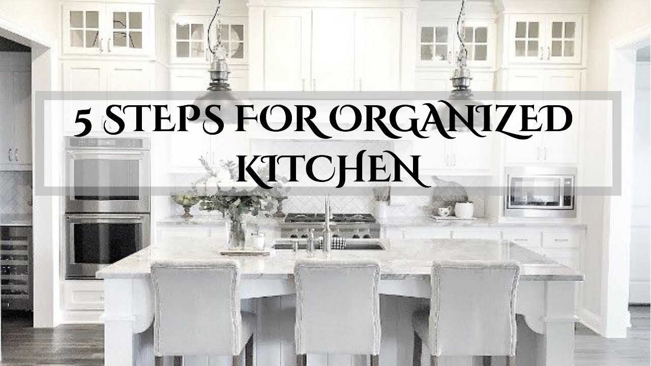 5 STEPS | ORGANIZED HOLIDAY READY KITCHEN