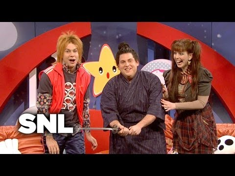 J-Pop Talk Show: Samurai Sword Enthusiast - Saturday Night Live