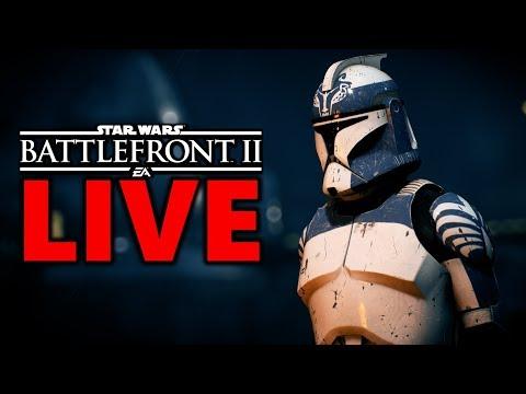 FAVOURITE CLONE SKINS? Star Wars Battlefront 2 Live Stream #179 thumbnail