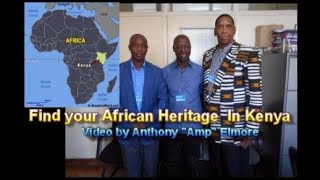 Find your African Heritage in Kenya by Anthony Amp Elmore