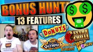 SEK 35k (€3,500) Bonus Hunt #11, Results from 13 features