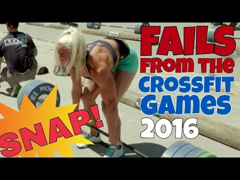 Exercises in Futility - Fails from the CrossFit Games/Washed-Up Loser Olympics (2016)