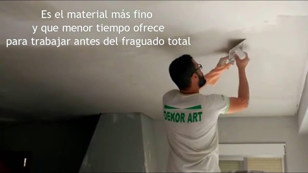 Techos de escayola consejos de instalaci n y decoraci n - Decoracion de escayola ...