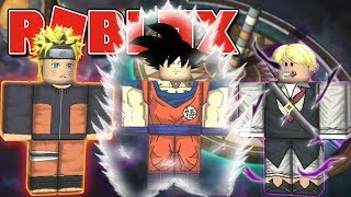 ROBLOX-The NEW BATTLE OF ANIMES (Anime Cross 2)