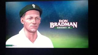Don Bradman Cricket 17 gameplay ps4