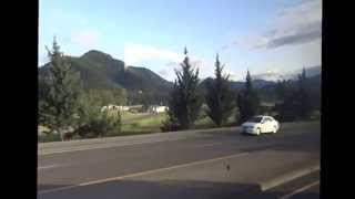 Greyhound Bus down West Coast: #4 Southern Oregon--Eugene to Sacramento, California 2015-04-08