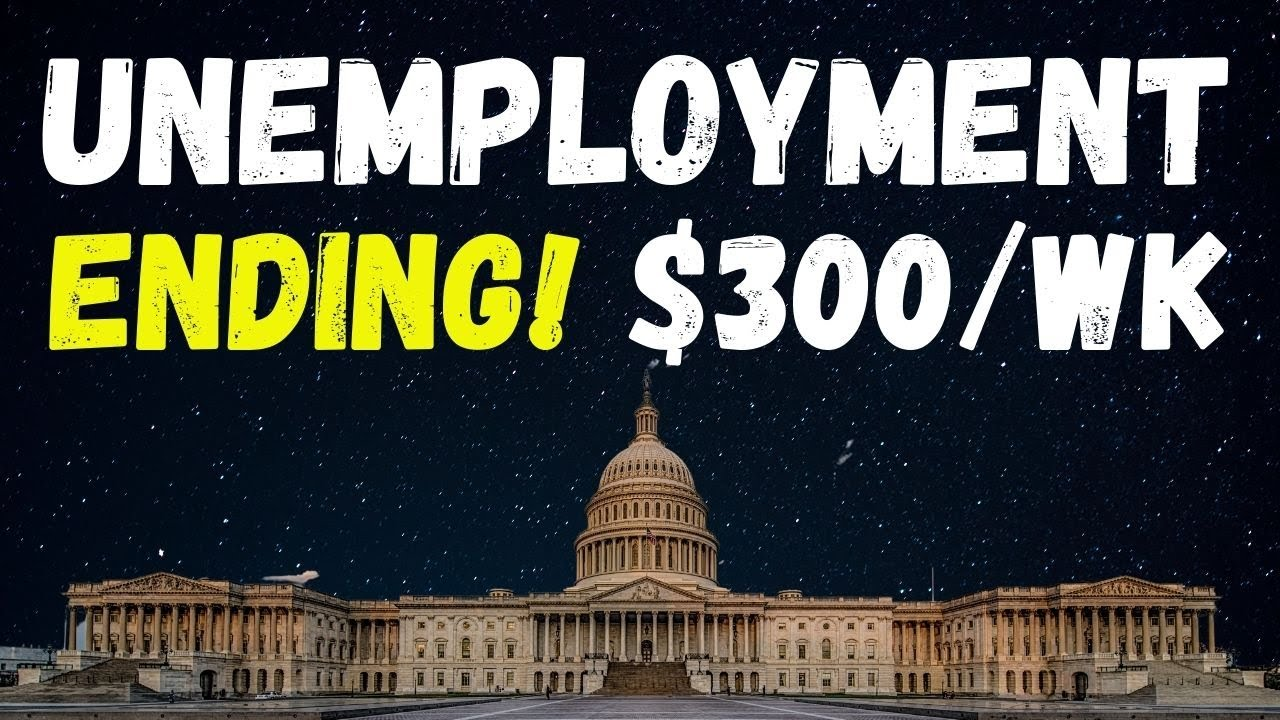 Unemployment Ending This Week End For Some States
