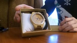 Деревянные наручные часы BoboBird Aliexpress обзор