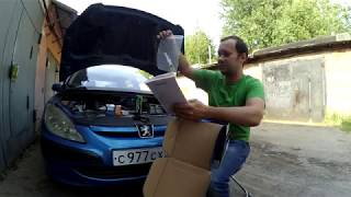 Peugeot 307 1.6 TU5JP4 Turbo-kit 0.6 бар