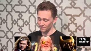 [VIETSUB-CC] Tom Hiddleston - Slumber Party with Josh Horowitz