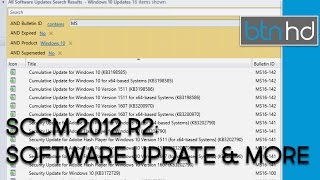 sCCM 2012 R2 - Create Search Criteria, Software Update Group & Deploy Software Update Group