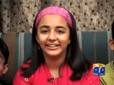 Arfa Karim Sung Abrar's Song ''Islamabad''