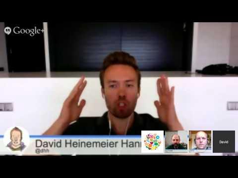 TW Hangouts   |   Is TDD dead? [Part III]