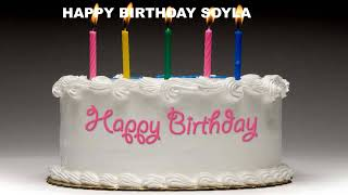 Soyla - Cakes Pasteles_1127 - Happy Birthday