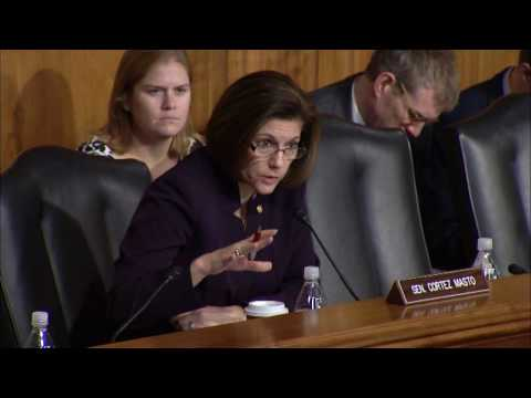Senator Cortez Masto Questions Energy Secretary Nominee Rick Perry Part 2