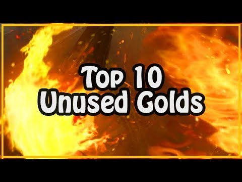 Top 10 Most Unused Gold Cards | Gwent