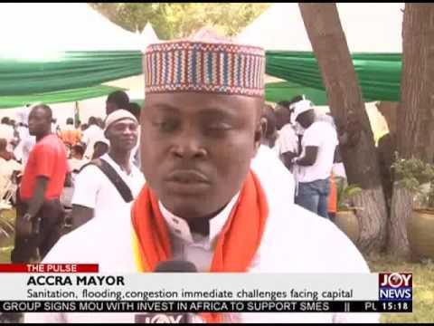 Accra Mayor - The Pulse on Joy News (23-3-17)