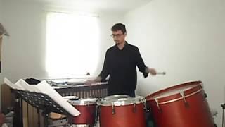 REBONDS A (fragmento), Iannis Xenakis - Sergio Rico (percusionista)