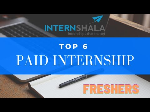 SKILLS Required for internship |Top 6 Internship category that FRESHERS (1st/2nd/3rd yr stud)can GET