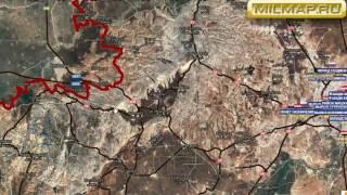 Видео обзор карты боевых действий в Сирии и Ираке от 16 12 2016г