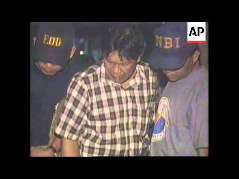 PHILIPPINES: EXPLOSION AT NATIONAL BUREAU OF INVESTIGATION