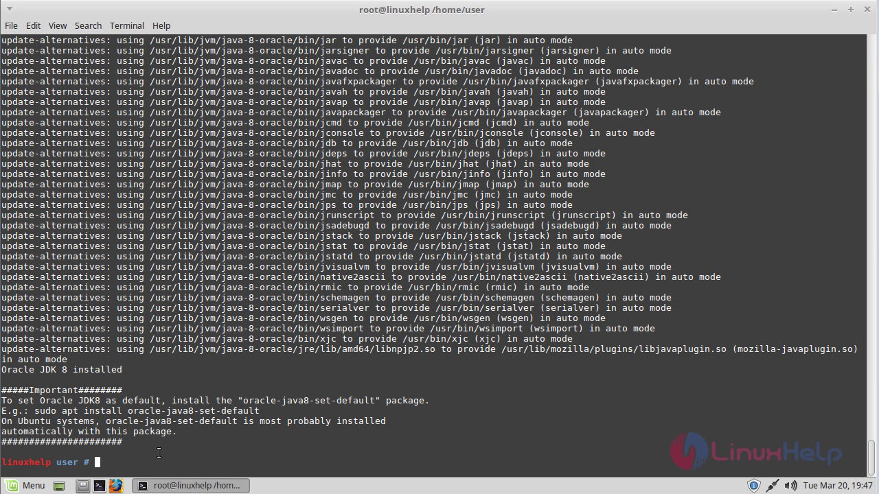 install maven in linux