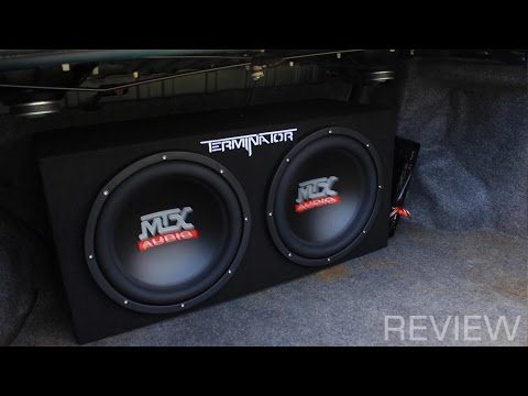 "MTX Terminator 12"" with 1100W Amp"