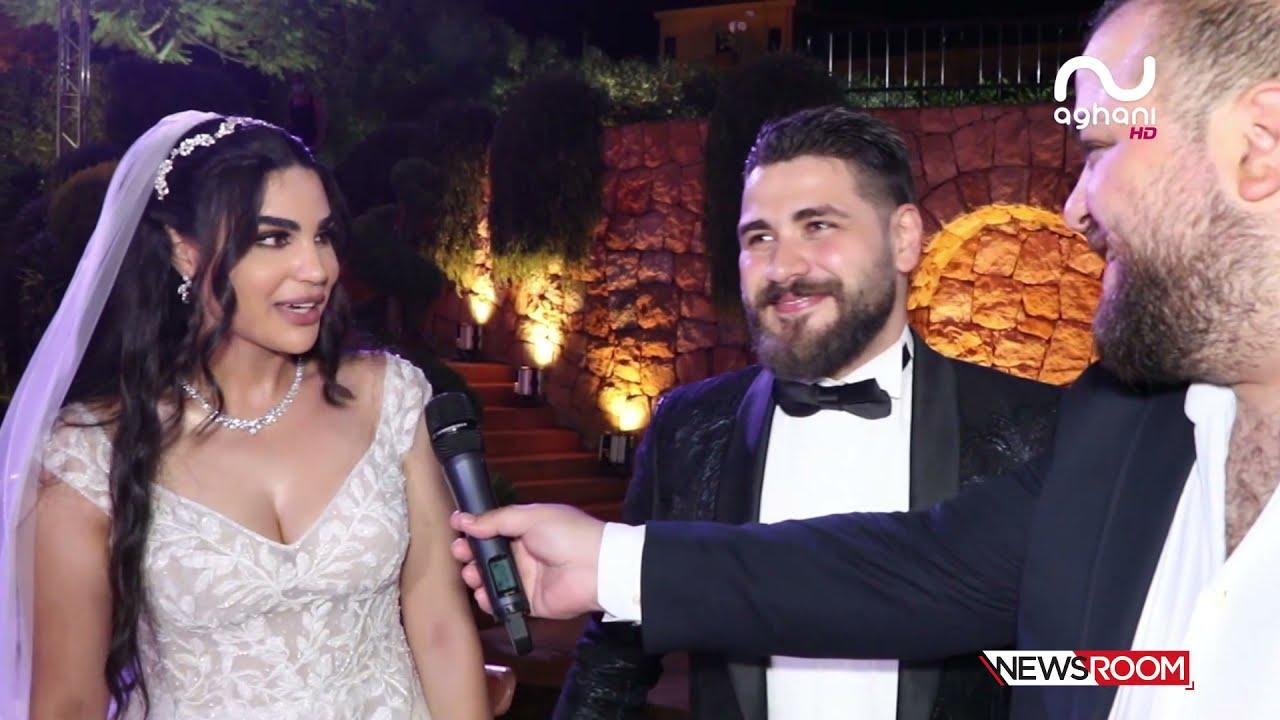 شاهد تأثّر والد ووالدة محمد المجذوب يوم زفافه.. وهذا ما وعدته به زوجته عبر أغاني أغاني!