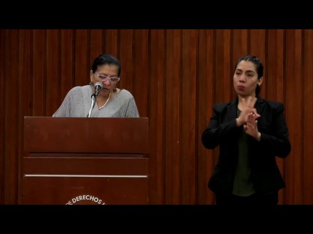 Discurso de Nashieli Ramírez en la presentación del Informe sobre las Violencias de Género