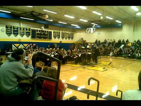 The Algonac High School Symphonic Band