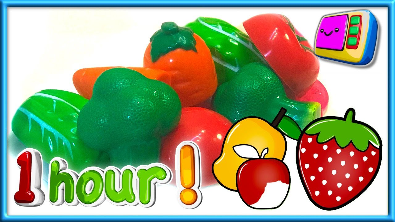 Learn About Fruit and Vegetables | Toddler Time TV | Preschool & Nursery Videos for Children