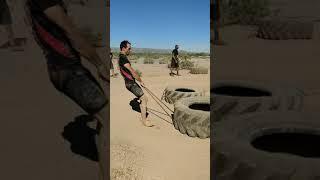#Barefoot #OCR #Firsttime Terrain Race 2018 Phoenix, Arizona