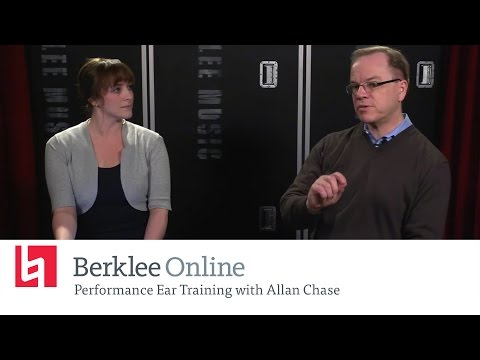 Berklee Online Ear Training Clinic: Performance Ear Training with Allan Chase