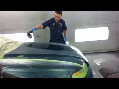 how to paint your car 1997 mustang green metallic